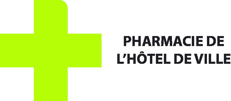 logo pharmacie hotel de ville